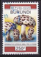 Timbre Oblitéré N° 979(Yvert) Burundi 1992 - Champignons - Burundi