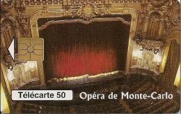 Monaco (07/97 - B77186004- 774369614) Tirage 52000 Ex. - Puce : GEM - Utilisée - Opéra De Monte-Carlo - Monaco