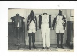 CPA Ecole Speciale Militaire Musée Souvenir Uniformes  Neuve TBE 4 ND Photo - Uniformes