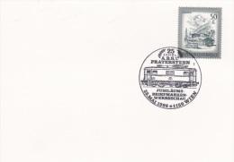 Train & Railroad: Austria Card P/m Wien 1986 Train In Postmark (G61-59) - Trains