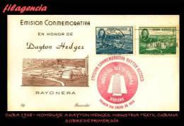 CUBA SPD-FDC. 1958-02 DESARROLLO DE LA INDUSTRIA TEXTIL EN CUBA - FDC