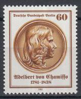 Berlijn - 200 Geburtstag Von Adelbert Von Chamisso - Dichterund Naturforscher - MNH/postfris - M 638 - [5] Berlijn