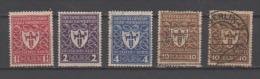 Allemagne Y&T N°214.215.216.218.218. Oblitéré - Oblitérés