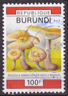 Timbre Oblitéré N° 977(Yvert) Burundi 1992 - Champignons - Burundi