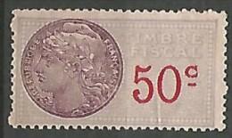FISCAL  N°  111 NEUF SANS GOMME - Steuermarken