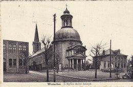 Waterloo - L'Eglise Saint Joseph (oldtimer, Flamme) - Waterloo