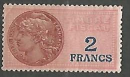 FISCAL  N°  127 NEUF * CHARNIERE / MH - Fiscaux