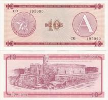 Cuba - 10 Pesos Ex. Certificate UNC serie A - Lemberg-Zp