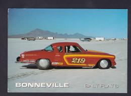 Bonneville Slat Flats Worlds Fasted Speedway Nevada Utah ( Autombole Record Vitesse Plaine De Sel ) - Autres