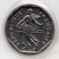 2 francs 2000 FDC scell�e - ( Semeuse - Roty )