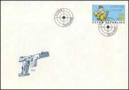 Czech Rep. / First Day Cover (2003/11) Plzen: World Championship In Sport Shooting Pilsen 2003 - Berufe