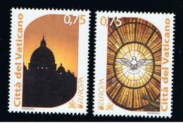 2012 - VATICANO - S13E - SET OF 2 STAMPS ** - Unused Stamps
