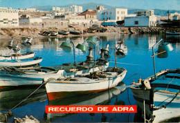Espagne - Bateaux De Pêche - Andalousie - Andalucia - Almeria - Adra - El Puerto - Recuerdo De Adra - état - Almería