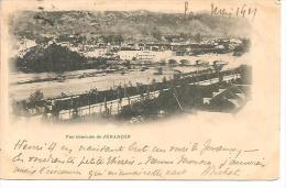 VUE GENERALE DE JURANCON. CIRCULEE EN 1901.