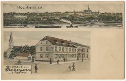 Hochheim Gasthaus Weihergarten C. Fleischer  Edit Merten - Hochheim A. Main