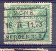 K649 -België Spoorweg Stempel MONS // BERGEN N° 8 - Chemins De Fer