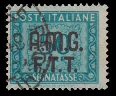 Italia – Trieste Zona A (AMG FTT): SEGNATASSE - Lire 50 Verde Azzurro - 1947/49 - 7. Triest
