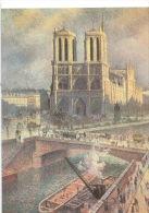 Paris :  Cathédrale Notre Dame - Maximilien Luce (1858/1941) Coll Particulière (arts Tableaux Peintures) - Notre Dame De Paris