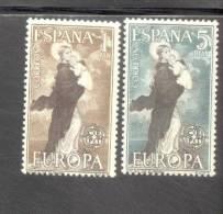 CEPT Im Ornament Spanien 1411 - 12 ** Postfrisch MNH - Europa-CEPT