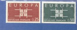 CEPT Ornament Frankreich 1450 - 51 ** Postfrisch MNH - Europa-CEPT