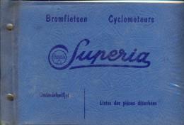 Boekje - Onderdelen Lijst Motor Bromfiets Superia  - Remi Claeys Zedelgem - Sin Clasificación