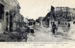 62 ABLAIN SAINT NAZAIRE Rue De Souchez - France