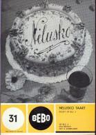 Pub. Reclame - Producten BEBO - Deeg - Kookboekje Taarten Recepten - Namen 1964 - Pubblicitari