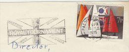 1975 Cover  ROYAL TOURNAMENT FLAG EARLS COURT Slogan Gb Stamps Military Paddington - Militaria
