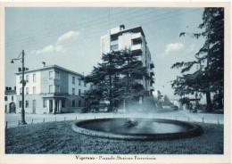 Lombardia-vigevano Veduta Piazzale Stazione Ferroviaria - Vigevano
