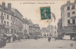 Saint étienne    Place Du Peuple, Cote Est           Nr 3376 - Saint Etienne