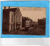 ROMANIA--GALATZ-GALATI- Strada Brasoveniei-beau Plan Avec Tramway   Année 1919 Guerre 14-18 Remontée Des Troupes D'oriet - Roumanie