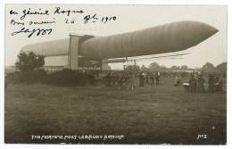 CPA BALLON DIRIGEABLE / AUTOGRAPHE AERONAUTE CAPAZZA / LEBAUDY - Zeppeline
