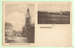 SCHALLODENBACH  - Kirchenplatz Mit Kirche Und Schulhaus - Total - Allemagne