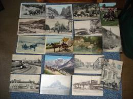 Lot De 37 Cpa .dont ..1 Carte Photo Et 2 Semi-modernes Cartes Postales Attelage De Chevaux ...voir Details - 5 - 99 Postcards