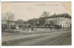 CPA LONGJUMEAU (Essonne) - Place Du Marché - Longjumeau