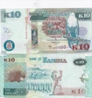 Zambia - 10 Kwacha 2012 AUNC Lemberg-Zp - Zambia