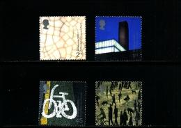 GREAT BRITAIN - 2000  ART AND CRAFT  SET  MINT NH - 1952-.... (Elisabetta II)