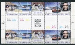 """Pitcairn - Mi.Nr. 925 - 928 Gutter Pair - """"Byrd Expedition"""" ** / MNH (aus Dem Jahr 2014) - Briefmarken"""