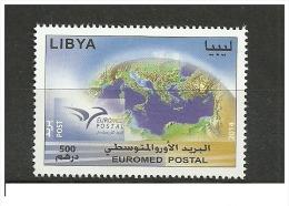 2014-Libya- Euromed Postal -Joint Issue- Complete Set MNH** - Emissions Communes