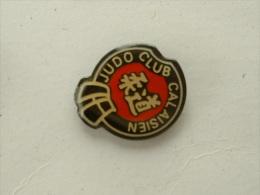 Pin´s JUDO CLUB CALAISIEN - Judo