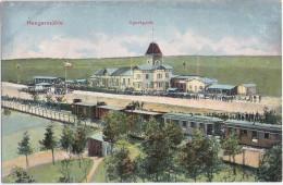 HEEGERMÜHLE Finow Eberswalde Sportpark Bahnhof Eisenbahn Zug 16.9.1912 Gelaufen - Eberswalde
