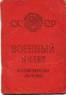 Ukraine  USSR Military Ticket ID Passport 1949 - Documents