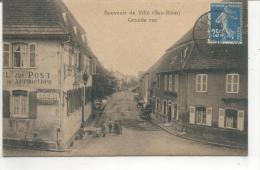 Souvenir De Villé, Grande Rue - Frankreich