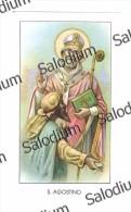 S. AGOSTINO - Santino - Holy Card - Images Religieuses