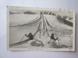 74 HAUTE SAVOIE Chamonix Mont Blanc Telemachs A Deux Sport Ski - Chamonix-Mont-Blanc