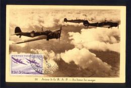 CPA AVIATION - Avions R.A.F - 75ème Anniversaire Poste Par Ballon Du Siège De Paris - 1946-....: Moderne