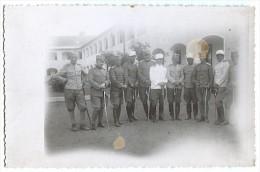 KINGDOM OF YUGOSLAVIA - Officers, Saber, Original Photo Postcard - Uniformes