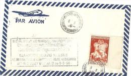 LMM13 - CAMBODGE - LETTRE COMMÉMORATIVE 1956 - Cambodge