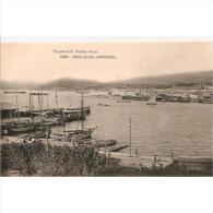 PTVDTPA453-LFTD5606TCSC.Postal DE PONTEVEDRA.Casas,barcos De Pesca Y Veleros.MUELLE DEL COMERCIO VIGO - Comercio