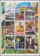 Guinée 1998. Evénements Du 20ième Siècle. Concorde, Humphrey Bogart, Austin & Morris, Nüremberg, Rita Hayworth - Cinéma
